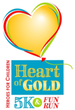Heroes for Children to Host 11th Heart of Gold 5K & Fun Run
