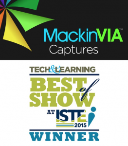 MackinVIA Awarded Best of Show at ISTE 2015