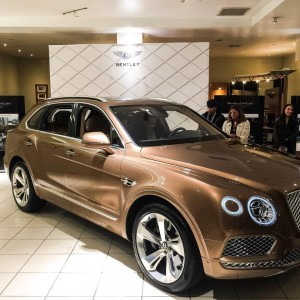 Manhattan Motorcars Unveils Bentley Bentayga: The New Pinnacle Suv