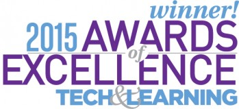 MackinVIA Receives Tech & Learning's 2015 Award of Excellence