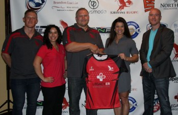Legacy ER & Urgent Care Scores Sponsorship with Griffins Rugby Club