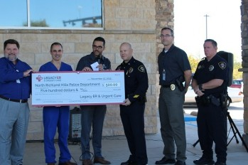 Legacy ER & Urgent Care Honors North Richland Hills' First Responders