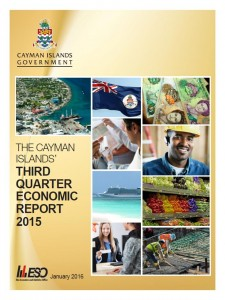 Cayman Islands Report – Economic Expansion is Estimated   at 1.6% for the First Three Quarters of 2015
