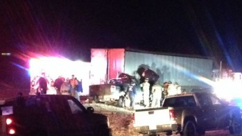 Tractor-Trailer, Pickup Truck Crash in Lubbock County: DPS Investigates Cause