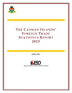 ESO Cayman Islands Reports -Global Oil Price Decline Brought Down Merchandise Imports in 2015