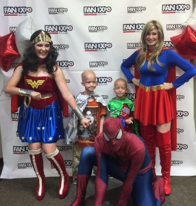Fan Expo Dallas Treats Children Battling Cancer To Superhero Breakfast