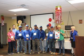 Lawns Ltd. Honored For Volunteer Services