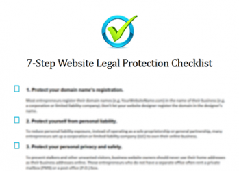 Internet Lawyer Offers Free Website Legal Protection Tool