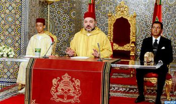 HM King Mohammed VI 's Speech On King And People's Revolution Day