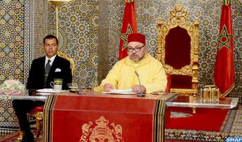 King Mohammed VI Delivers Speech To Nation On Throne Day