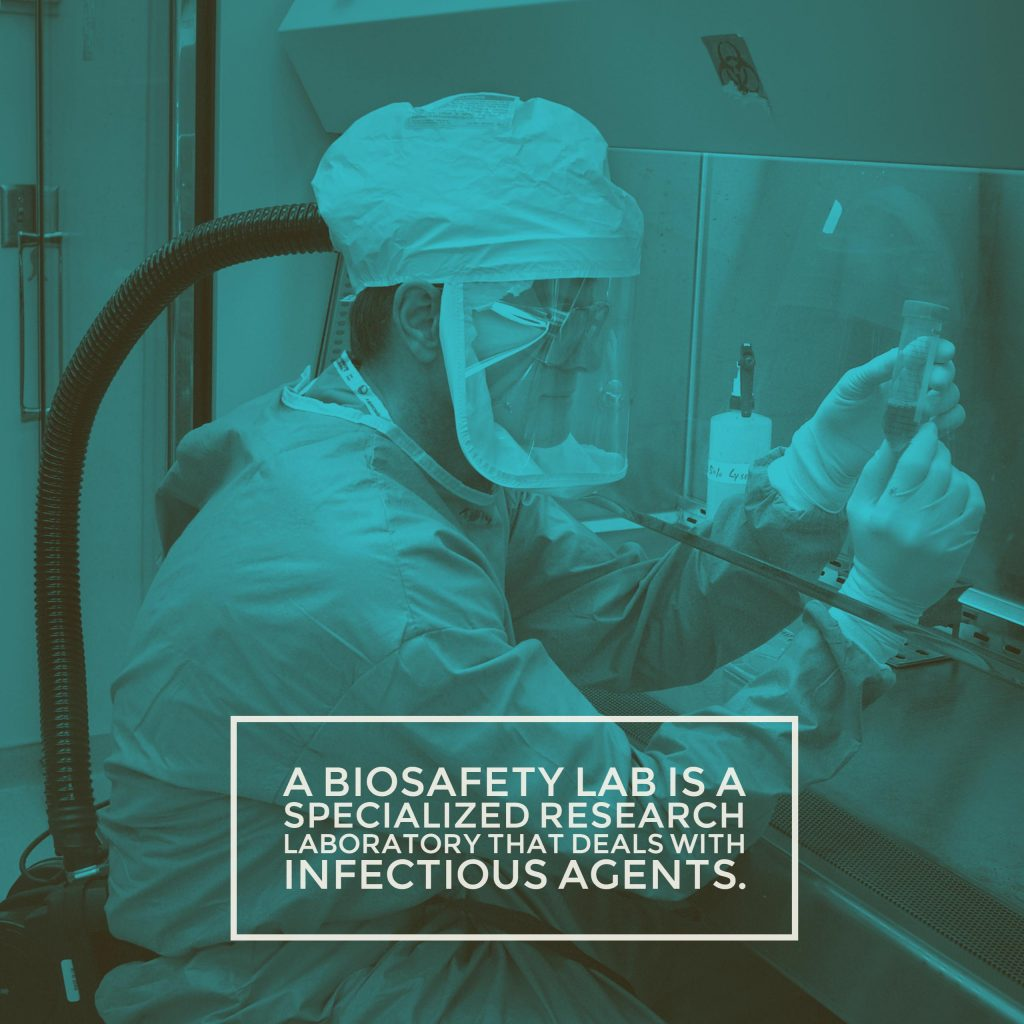 Biosafety Labs And The Meaning Of Biosafety Levels