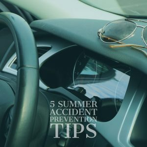 Higher Number of Car Accidents In Summer Means Motorists Need To Take Precaution