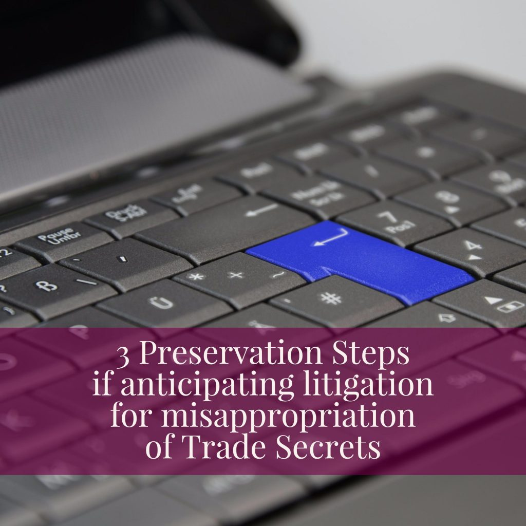 Preservation Steps For Executives Anticipating Litigation
