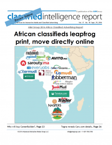 AIM Group Releases Its First Africa Classified Intelligence Report