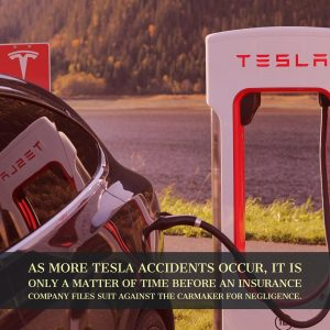 The Car Wreck Lawyers of 1-800-Car-Wreck Report On Tesla Auto Accident That Could Trigger Insurer Lawsuit Against the Car Maker