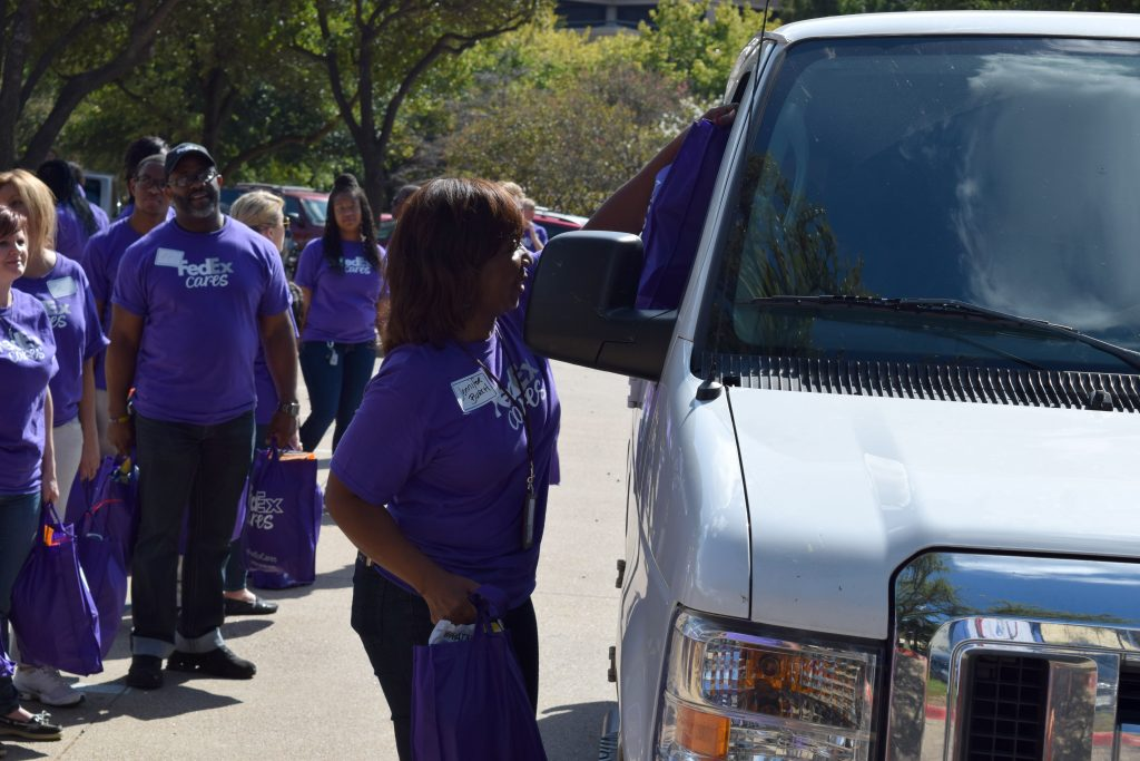 Transformance Teams Up With FedEx To Donate Food