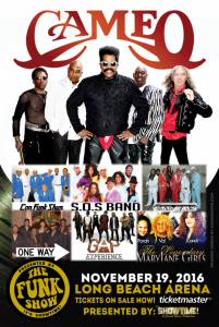 It's Showtime! Hits Long Beach, CA With 'The Funk Show' November 19th