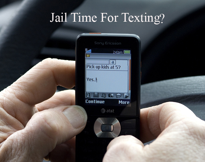 Jail Time for Texting & Driving Says Philadelphia Car Accident Lawyer Rand Spear