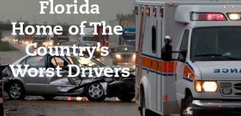 Florida Home to Nation's Worst Drivers Says Boca Car Accident Lawyer Joe Osborne