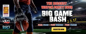 1-800-CAR-WRECK® Will Sponsor K104 Big Game Bash 2017