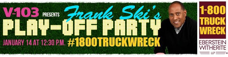 1-800-TRUCK-WRECK® lawyers of Atlanta host Falcons Play-Off Party