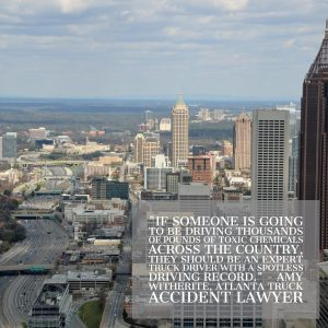 Atlanta Truck Accident Lawyer Discusses Toxic Semi Crash