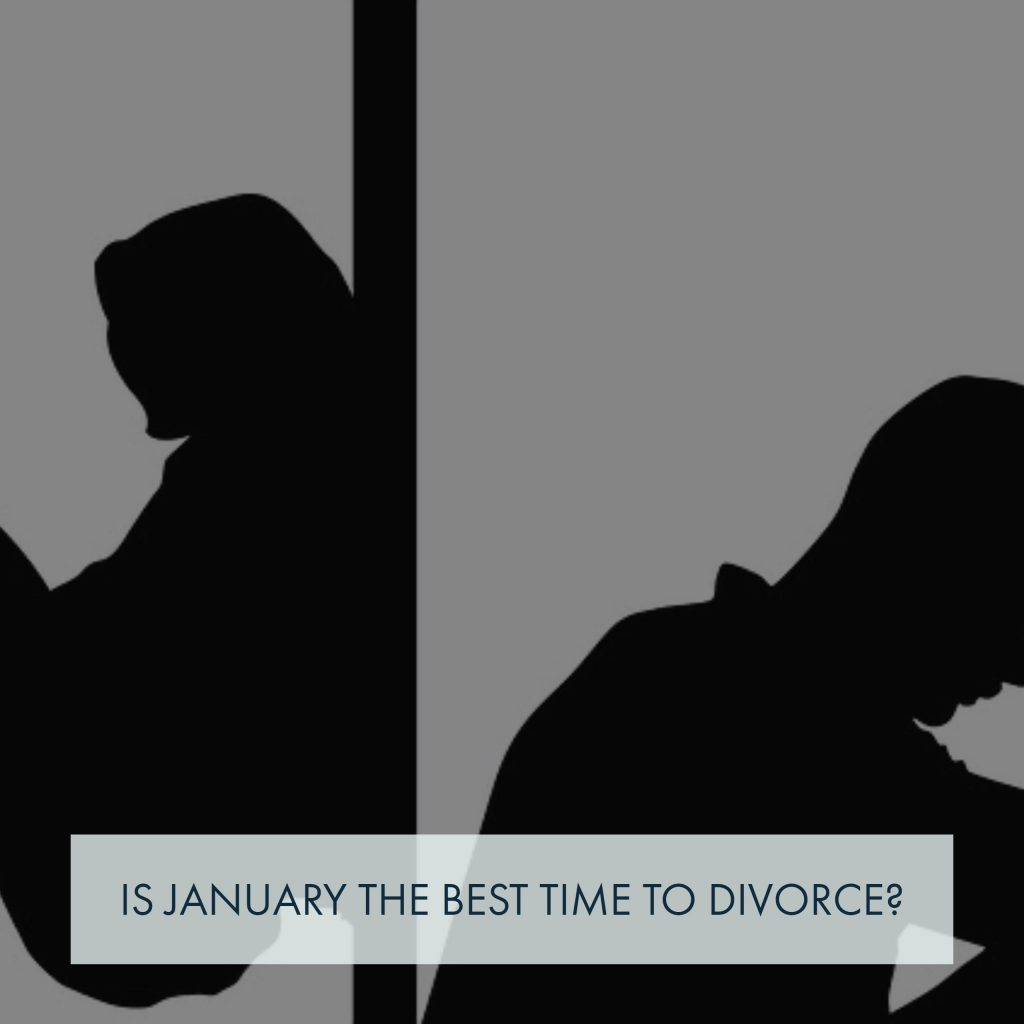"North Carolina Divorce Lawyer Discusses ""Is January Divorce Month?"""