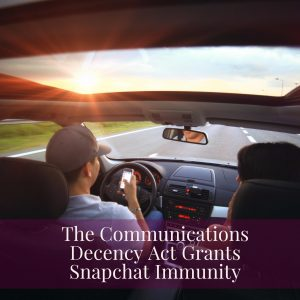 Snapchat Cleared Of Liability In Distracted Driving Case
