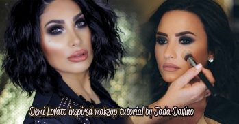 Demi Lovato Makeup Tutorial by Dallas Makeup Jada Davino