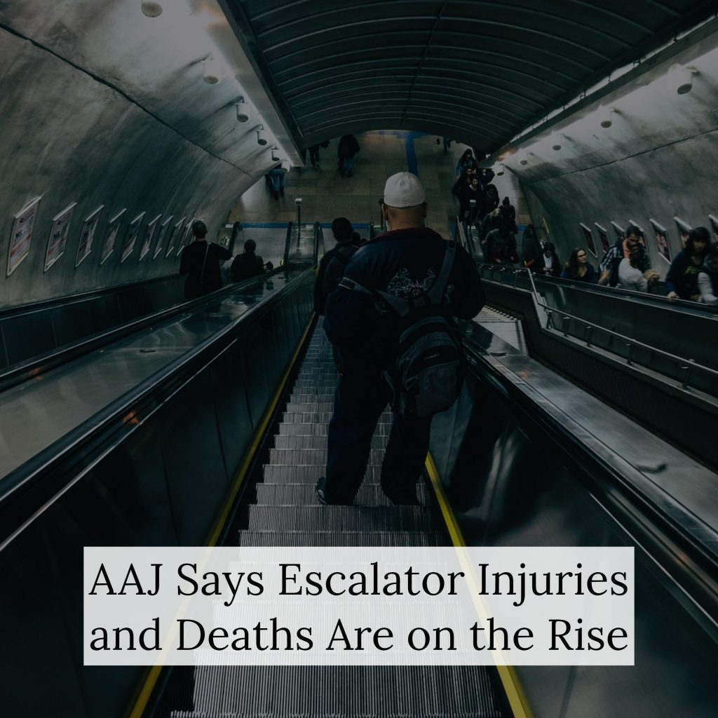 Are Escalator Injuries More Common Than You Realize? NYC Personal Injury Lawyer Discusses