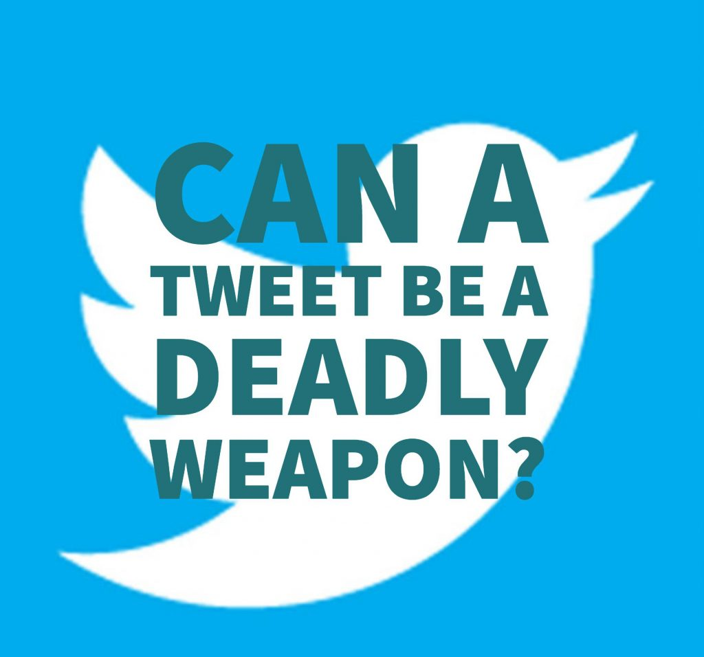 """Dallas Defense Attorney Explains When A Tweet Is A """"Deadly Weapon"""" In Texas"""