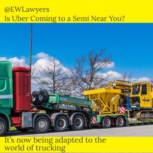 Atlanta Truck Accident Lawyer Discusses: Is Uber Coming To A Semi Near You?