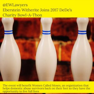 Eberstein Witherite Joins K104 to Benefit Women Called Moses at Charity Bowl-A-Thon