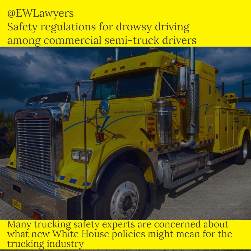 Eberstein Witherite Principal Discusses Drowsy Driving, Rest Break Rules For Truckers