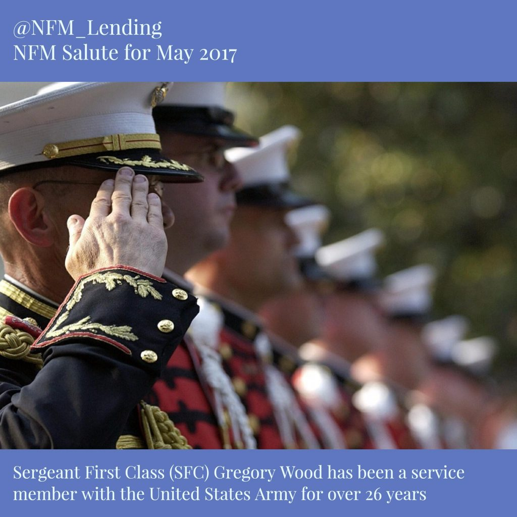 NFM Lending Salutes Sergeant First Class Gregory Wood