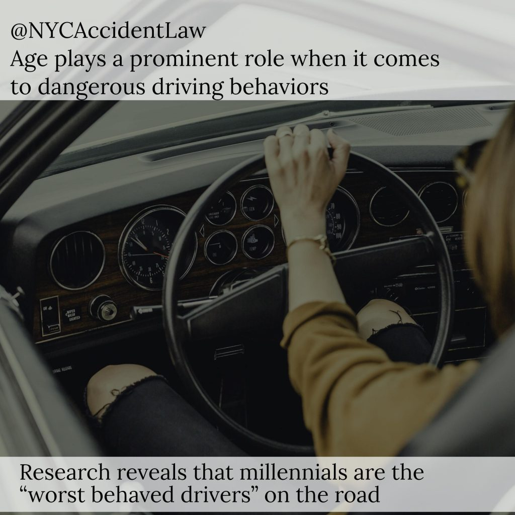 "NYC Auto Accident Lawyer Discusses Millennials As The ""Worst Behaved Drivers"""