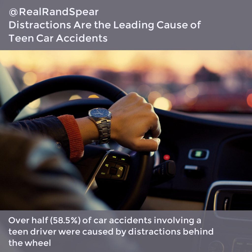 Philadelphia Car Accident Lawyer On The Top 3 Distractions For Teens Driving
