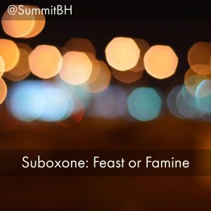 Summit Detox Treatment Center NJ Discusses Detox And Recovery From Suboxone