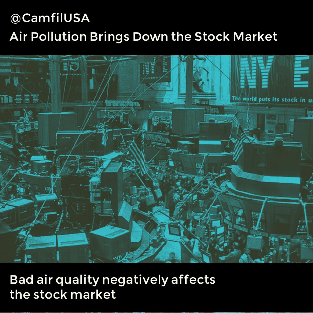 The Possible Link Between Air Pollution And The Stock Market
