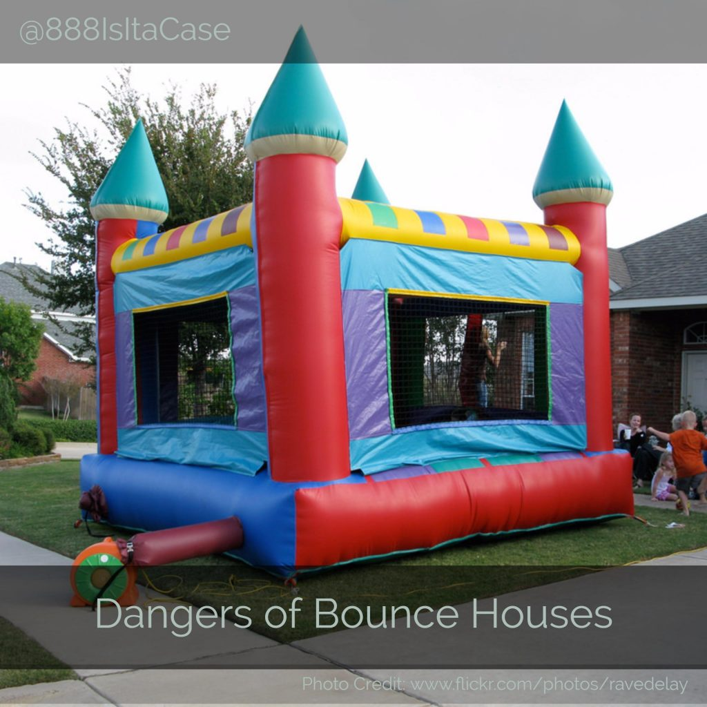 Dangers Of Bounce Houses