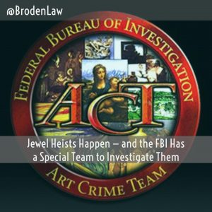 Jewel Heists Happen — And The FBI Has A Special Team To Investigate Them