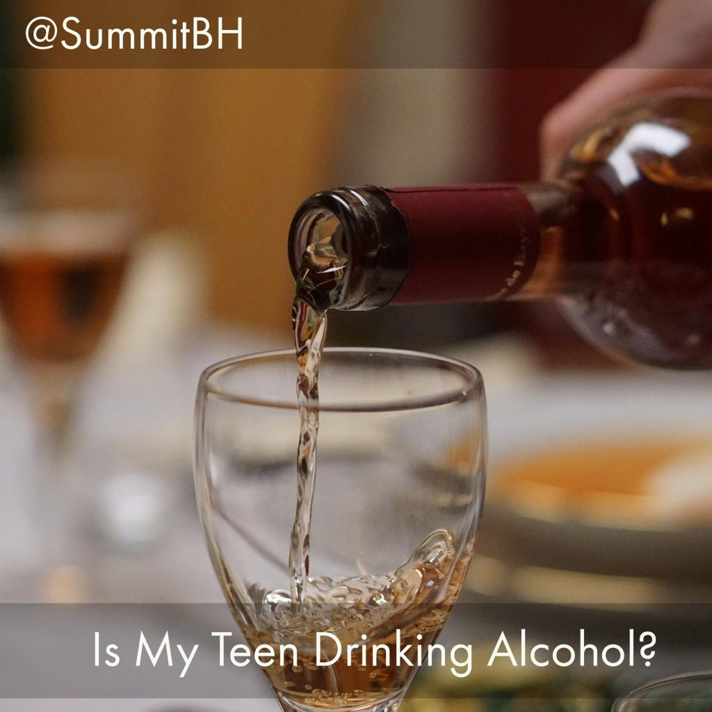 NJ Alcohol Detox Treatment Experts Explain How You Can Tell if Your Teen Drinks