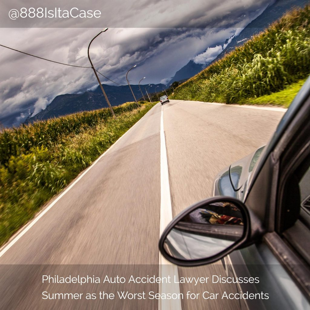 Auto Accident Lawyer Discusses Summer As The Worst Season For Car Accidents