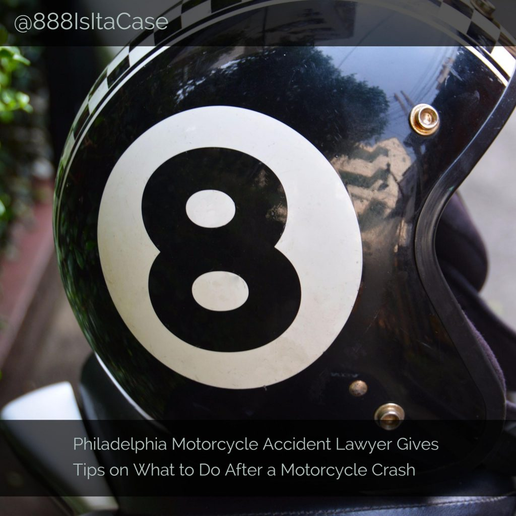 Motorcycle Accident Lawyer Gives Tips on What to Do After a Motorcycle Crash