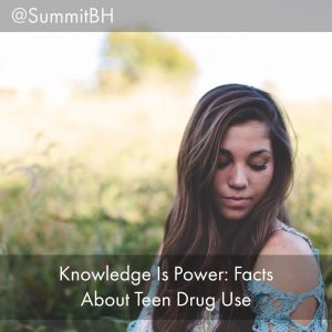 Serenity At Summit Detox Offers 10 Compelling Facts About Teen Drug Use