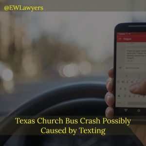 Texas Church Bus Crash Possibly Caused By Texting