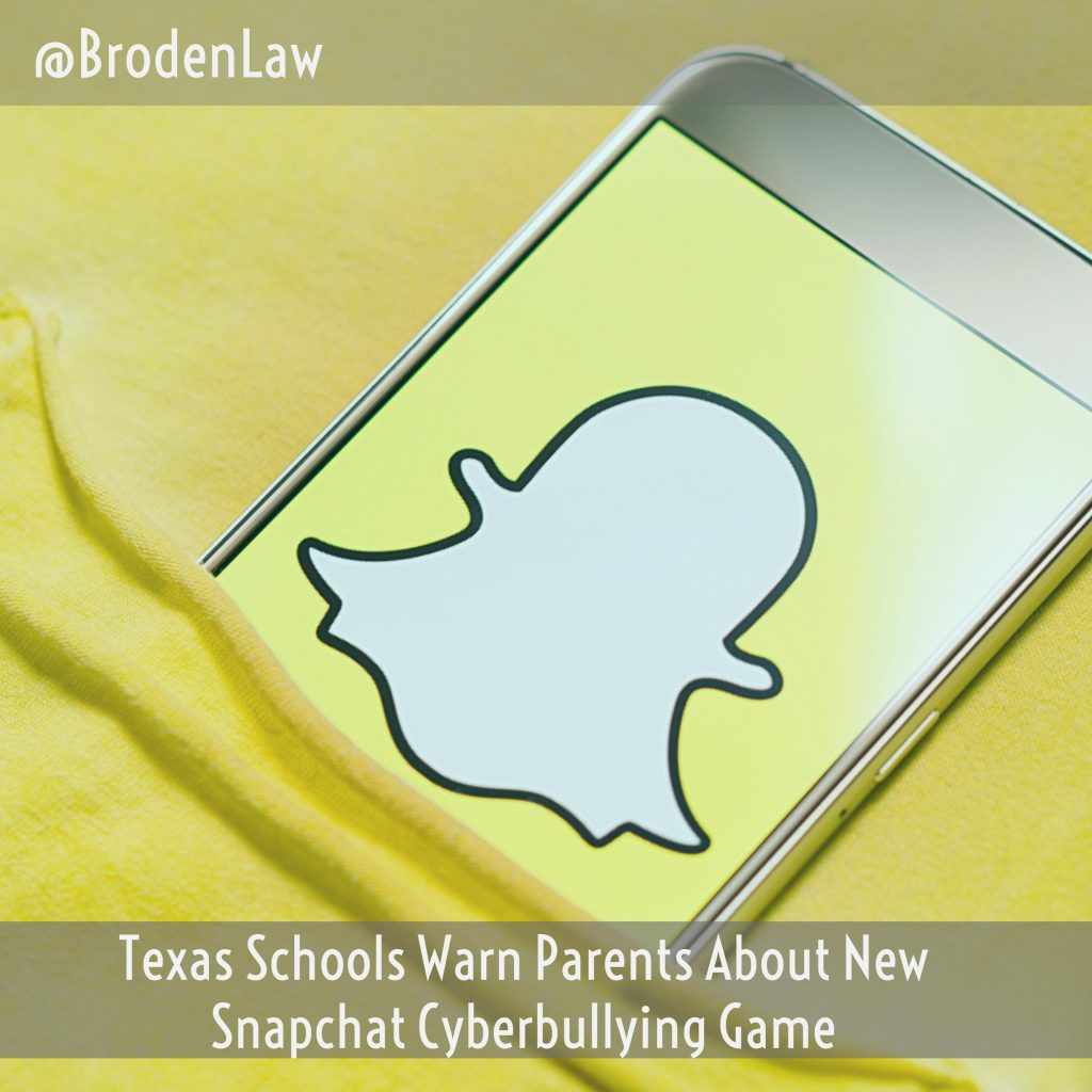 Texas Schools Warn Parents About New Snapchat Cyberbullying Game