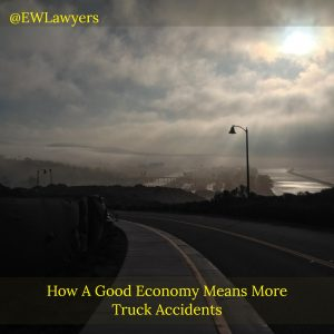 How A Good Economy Means More Truck Accidents