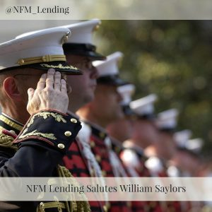 NFM Lending Salutes William Saylors