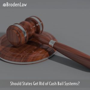 Should States Get Rid Of Cash Bail Systems?